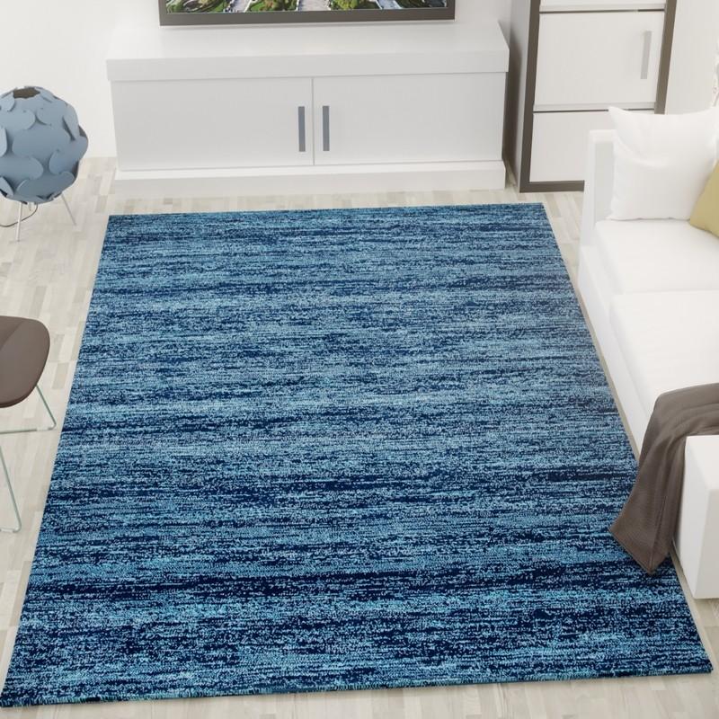 Blauw kleed trendy materiaal vloerkleden with blauw kleed - Alfombra yute ikea ...